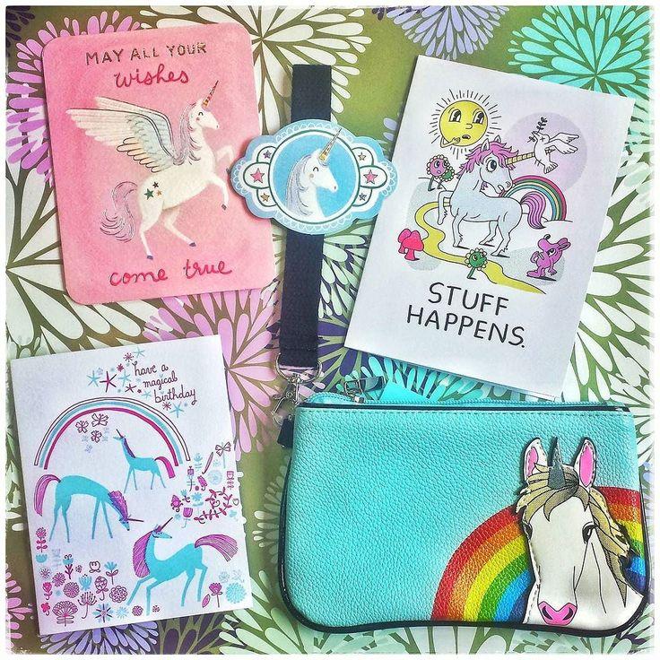 Magical Birthday Cards and a Cute Unicorn Pouch! Yay or Neigh?  #unicorn #unicorns #unicornlove #unicornbirthday #unicorncard