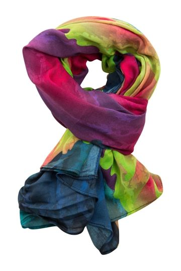 Front Row Society Baroque In The Garden Scarf - Womens Scarves - Birdsnest Online Fashion Store