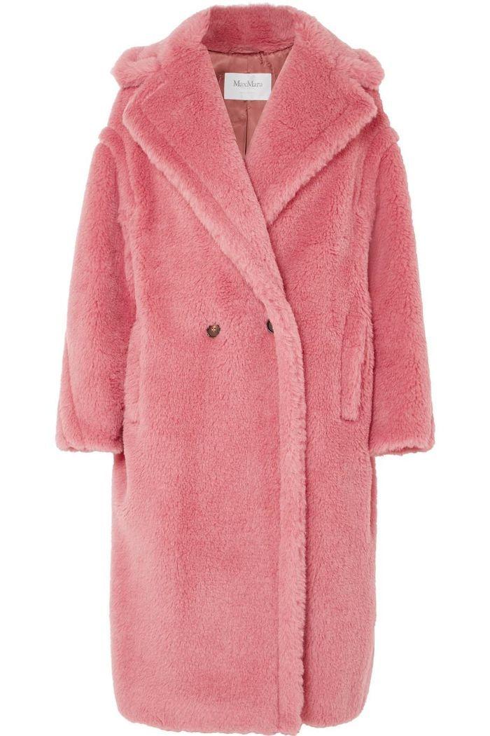 34 Best Pink Teddy Coat Ideas, Pink Teddy Bear Faux Fur Coat
