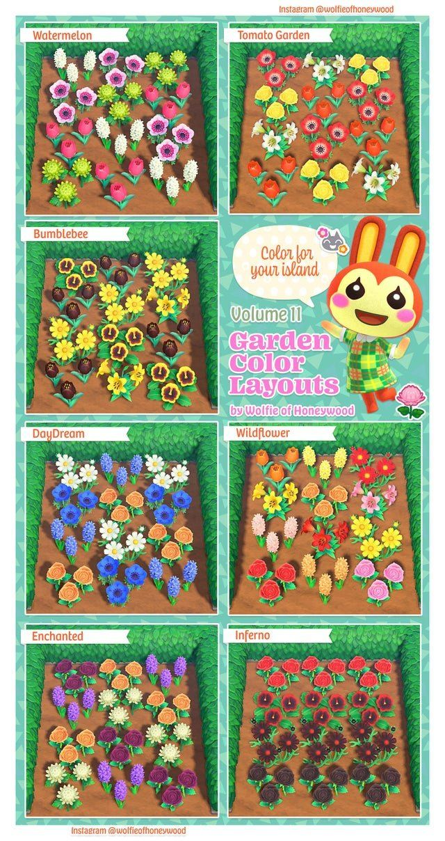 Best ACNH Garden Design Ideas & Tips - Animal Crossing New ...