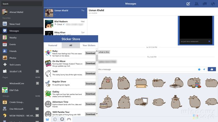 how to message facebook support