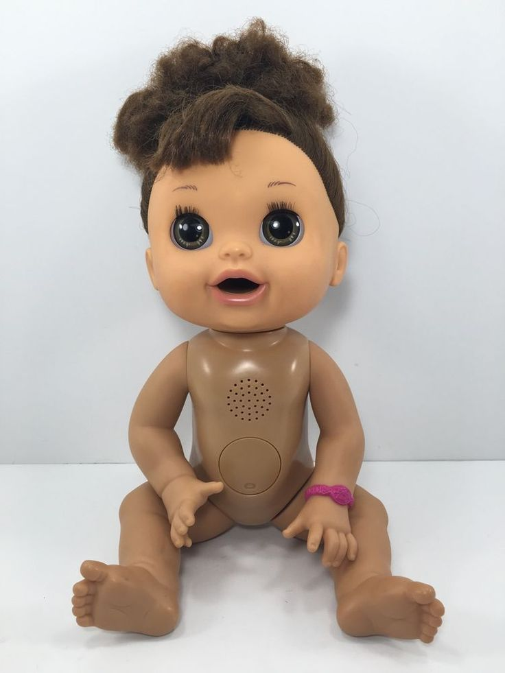 2012 Baby Alive Doll Real Surprises Moves Talks Dark Hair