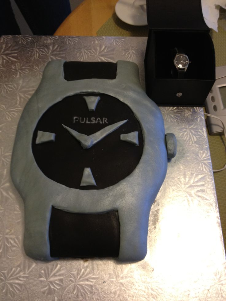 Pulsar Watch Cake