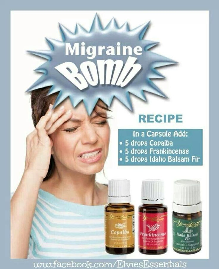 Young Living Headache Migranie Essential Oil Essential