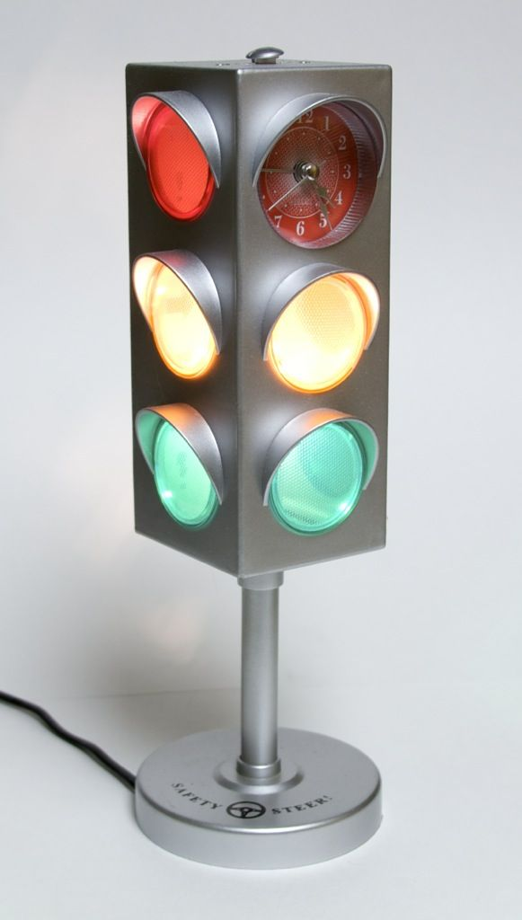 Traffic Light Decorations For The Garage, Kitchen, Or Bedroom. Oh, My! | Bedroom Lamps, Traditional Desk Lamps, Lamp