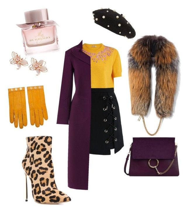 """It girl!"" by nedelamirela on Polyvore featuring Topshop, Hermès, Chloé, Miu Miu, Chicwish, Roland Mouret, NAKAMOL, Burberry, Casadei and Demarson"
