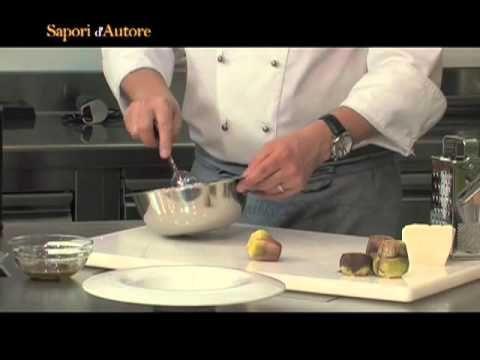 Ricette d'Autore_Insalata di carciofi crudi, olio di oliva e quartirolo alla menta - YouTube