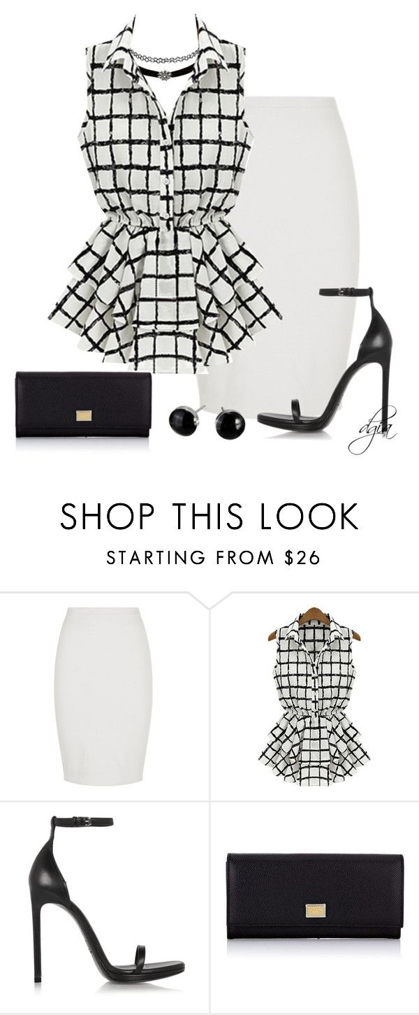 Saint Laurent Leather sandals by dgia on Polyvore featuring Yves Saint Laurent, Dolce&Gabbana and Charlotte Russe