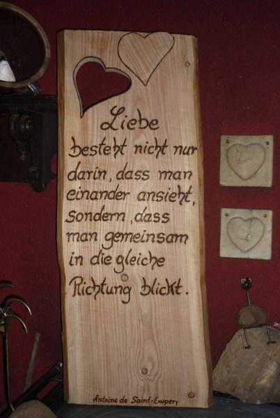 ♥♥Hochzeitsspruch♥♥ von Holz- Kreativ auf DaWanda.com