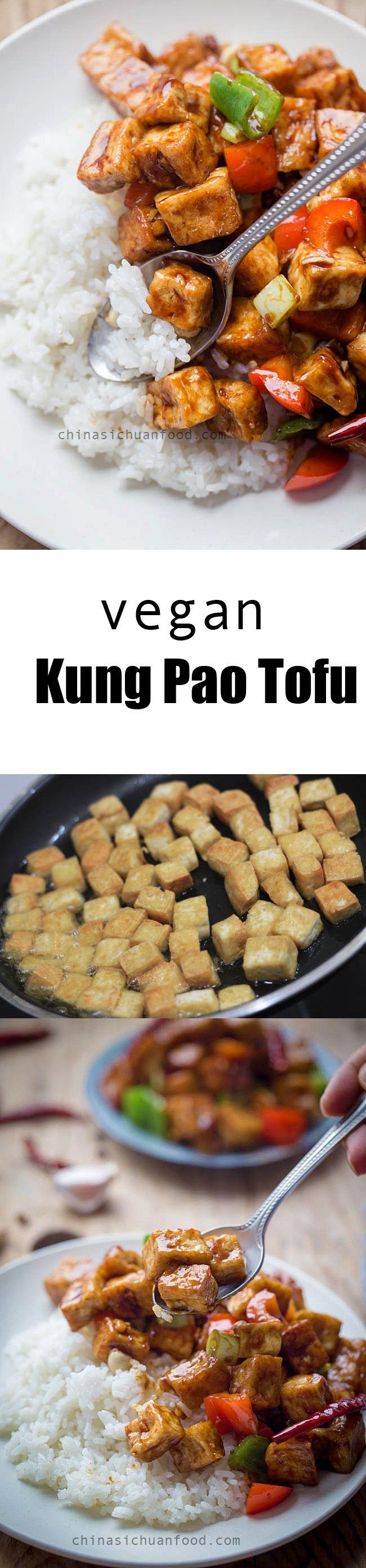 Vegan Kung Pao Tofu | ChinaSichuanFood.com