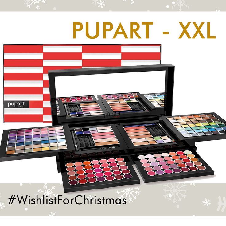 #natale #christmas #makeup #pupart #wishlist