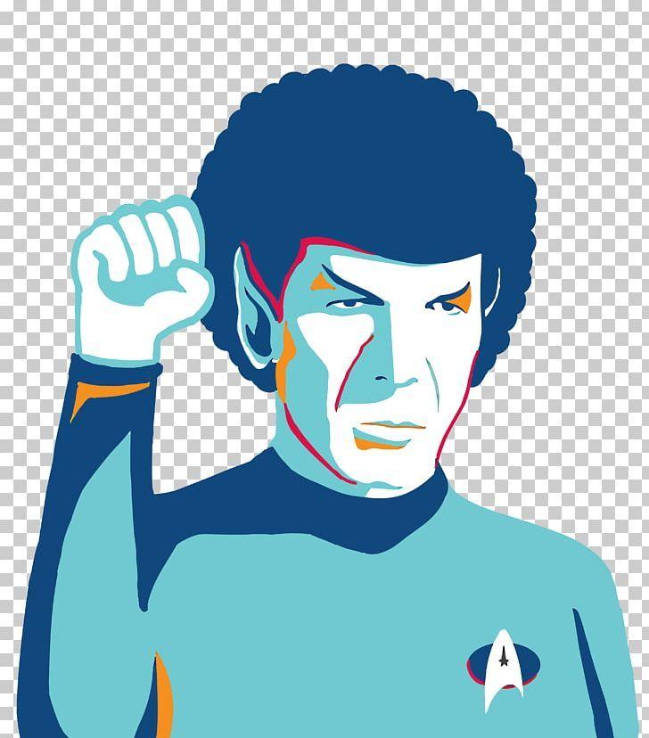 Logic Spock Star Trek Png Actor Art Blue Boy Cartoon Star Trek Trek Cartoon