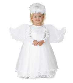 little angel girls costume - Only at Chasing Fireflies - If you know a little angel, what costume could be more fitting?