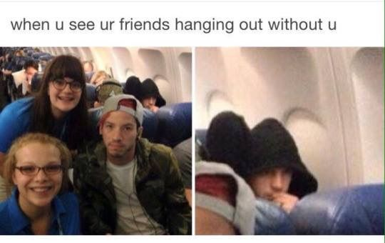 """Tyler's just like """"Please, merciless fangirls, stay AWAY"""" ;)"""