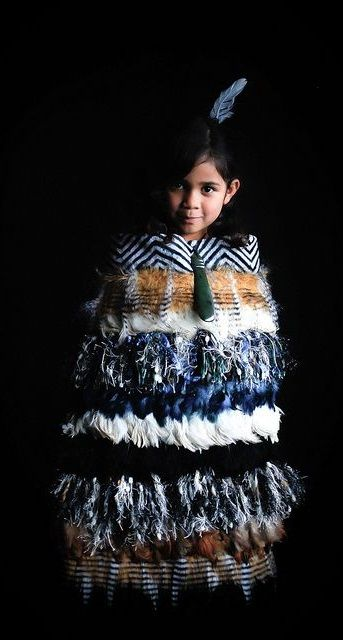 Korowai (Maori cloak) - Aotaroagreat to see the younger Maori women learning how to weave the cloaks, a complicated procedure.We wear these at weddings or graduations or gift them to people(to honour) beautiful!