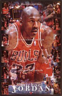 Michael Jordan Number One