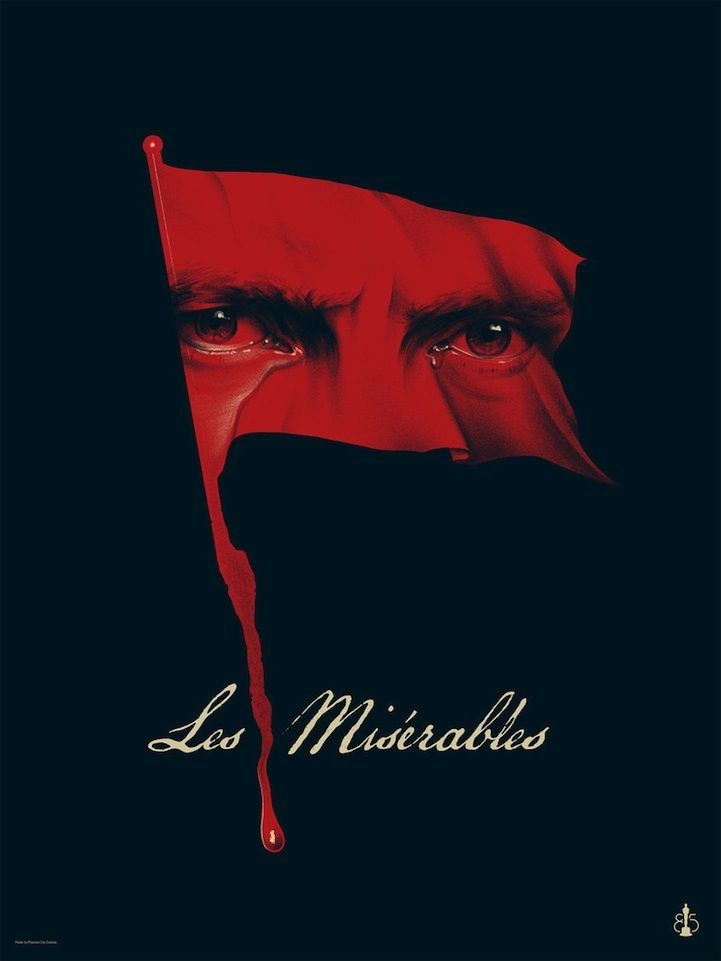 Creative Art Inspired by Oscar's Best Picture Nominees - Les Miserables by Phantom City Creative