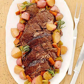 Slow-Cooker Harvest Pot Roast