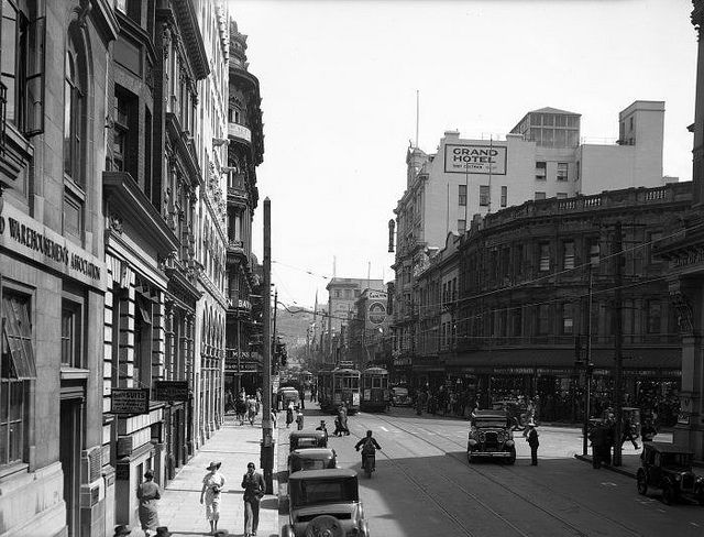 Willis Street, Wellington, [ca 1940] | Flickr - Photo Sharing!