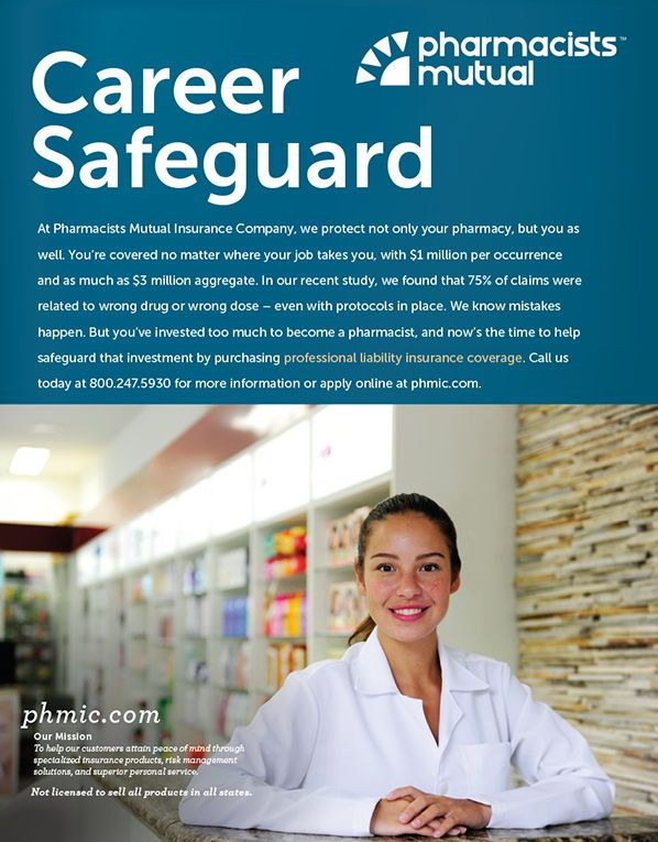 Pharmacists Mutual Career Safeguard As Seen In The 2018