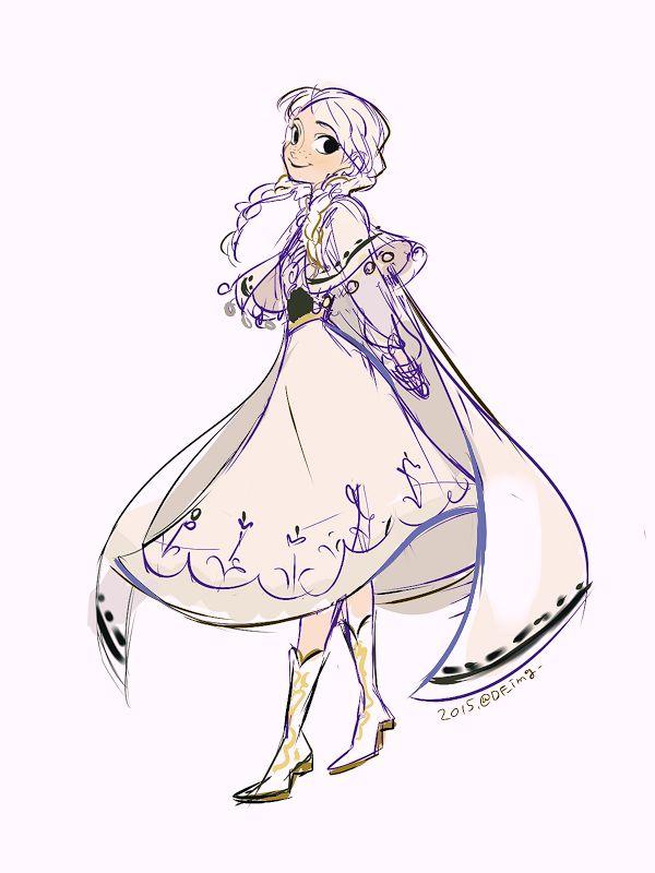 Princess Anna from Disney's movie Frozen