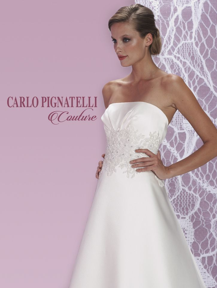 "Model ""Livia"" - Carlo Pignatelli Couture 2015. #carlopignatelli #couture #sposa #bride #weddingdress #bridalgown #weddingday #matrimonio"