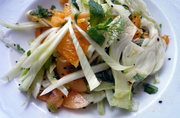 Insalata di arance e finocchi alla menta - Parliamo di Cucina