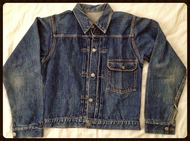 Vintage 1947 LEVI'S 506 Big E Denim Jacket | VINTAGE AMERICANA TOGGERY