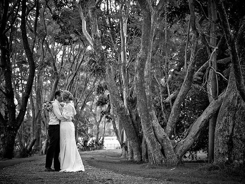 Brad and Michelle's High Tea Wedding
