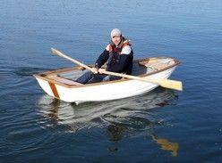 Dinghies, boating, rowing boat, clinker pram, sailing