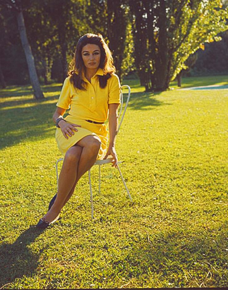 Anouk Aimée is a French beauty.