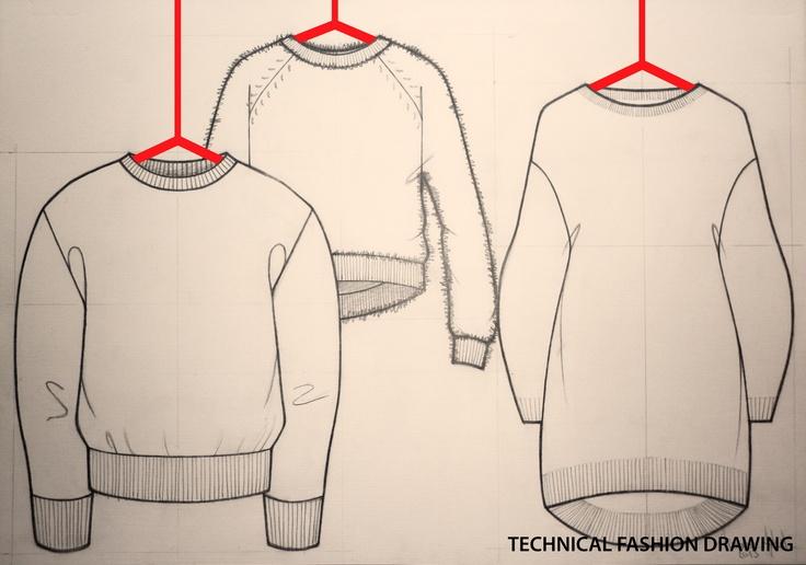 Technical Fashion Drawing