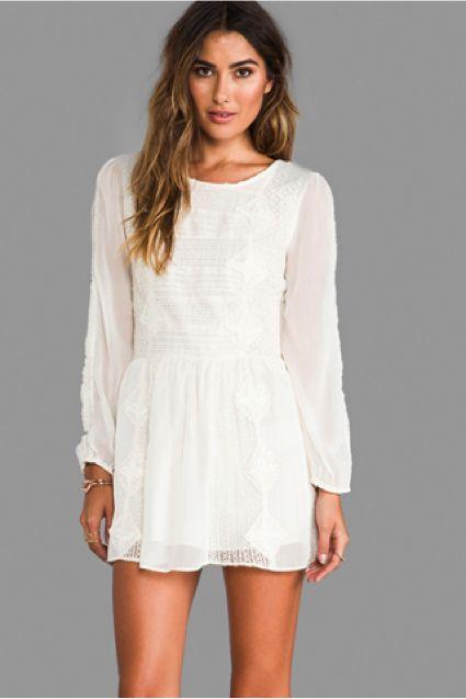 Eon era plus white dresses