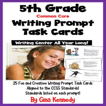 fun creative writing prompts for 5th grade These 5th-grade writing prompts (or fifth grade essay topics) are written for students in grade five they are free to use under a creative commons license.