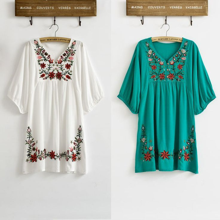 Women Loose Short Sleeve Round Neck Embroidered Boho Hippie Peasant Blouse Tops 161660931244. Women Peasant Ethnic Embroidered Floral Boho Batwing Mexican Gypsy Tops Blouse. Women Fashion Ethnic Totem Pattern Embroidered Floral Tunic Tops Blouse Shirts 161666573082. | eBay!