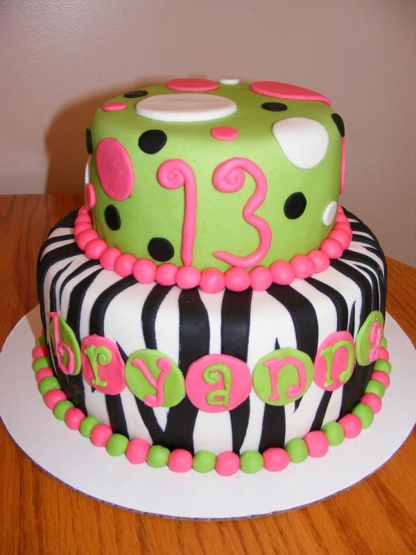 Pin 13th Birthday Cake Ideas For Girls Cake On Pinterest