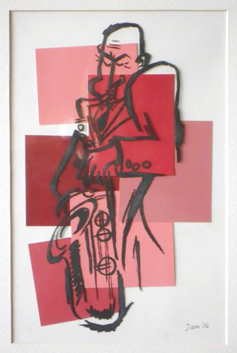 Jazz Man, 2006, Texas artist: Dan Darr [dannydarr.com]