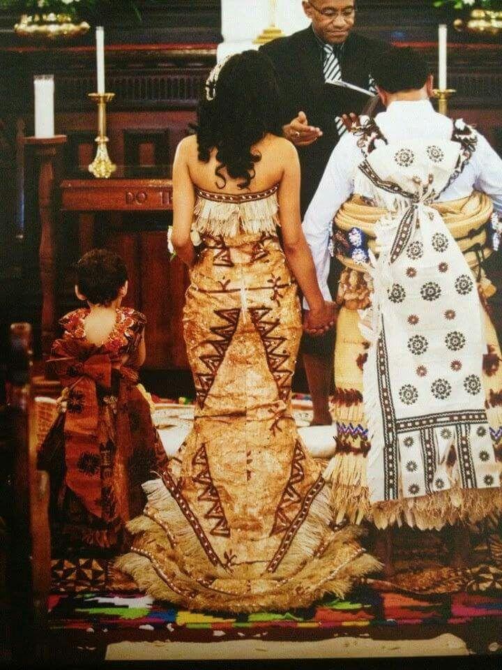 Fijian and Tongan wedding