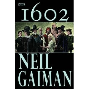 Marvel 1602 by Neil Gaiman. This is the best volume. Series goes to shit when other authors take over in the following volumes.