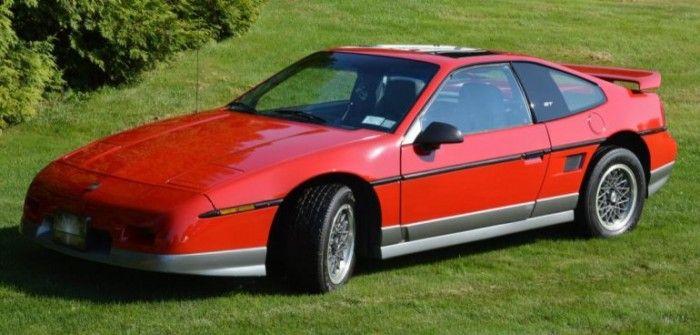 Hemmings Find of the Day – 1986 Pontiac Fiero GT