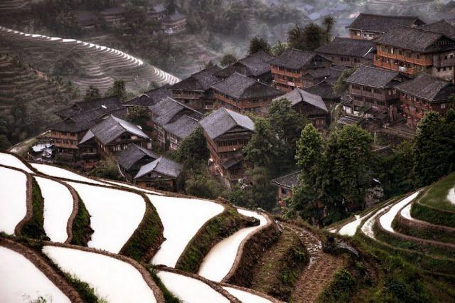 Βουνίσιο χωριό, Κίνα