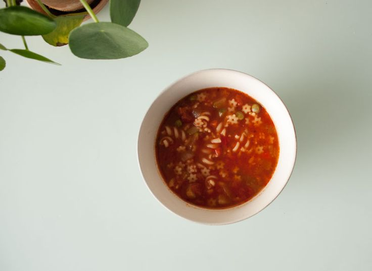 Super hero soup. Minestrone. Vegetable soup.