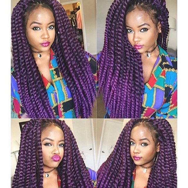 Crochet Braids Natural Hairline : Crochet braids #boxbraids #hairstyles #braids #extensions #hair # ...
