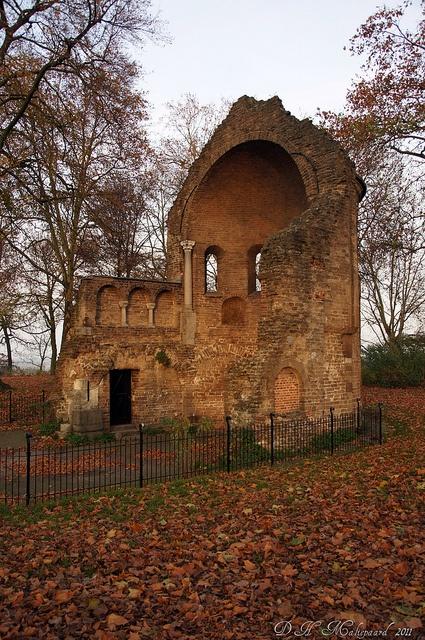 Barbarossa-ruïne Nijmegen Valkhof