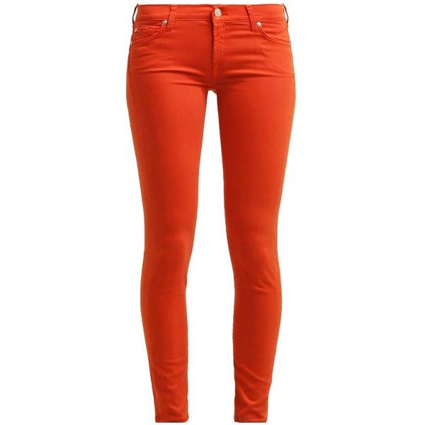 Best 25  Orange skinny jeans ideas on Pinterest | Coral jeans ...