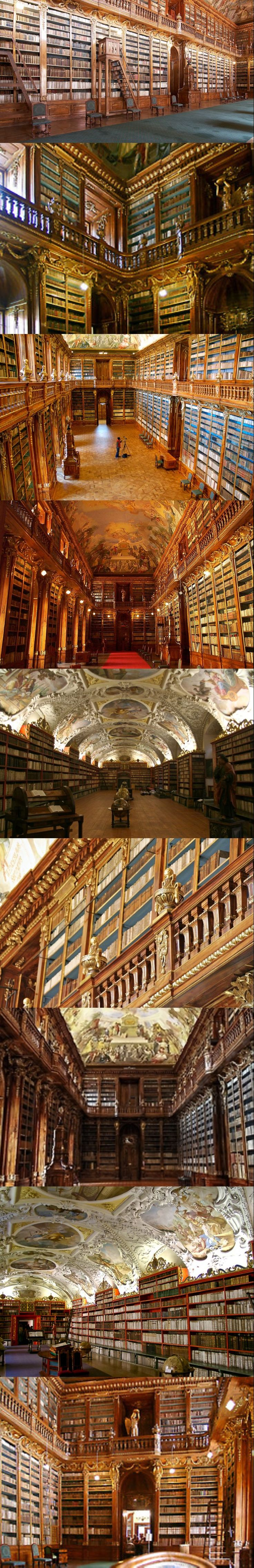 Strahov Monastery, Prague....... No words to describe this...