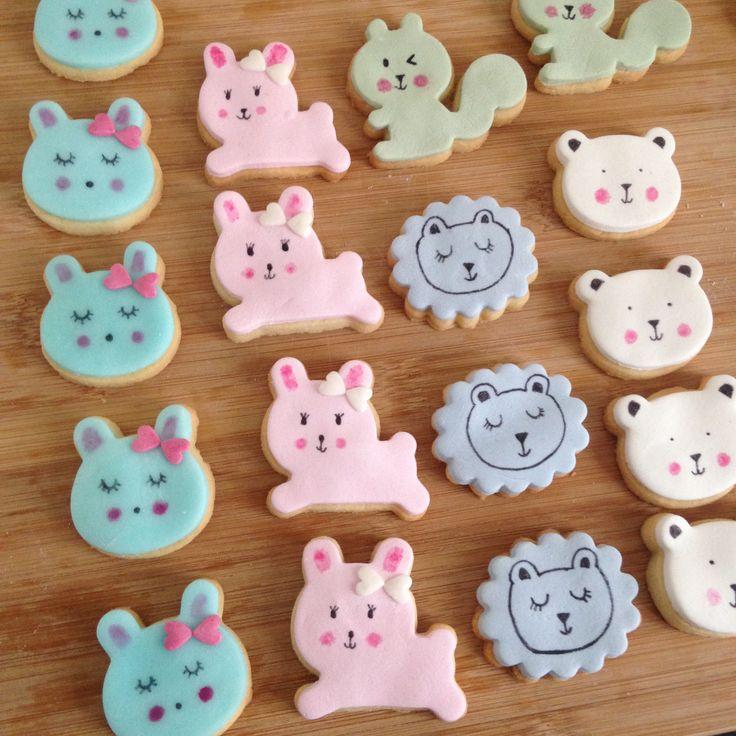 DIY kawai cookies by Moma Sablés supers mignons