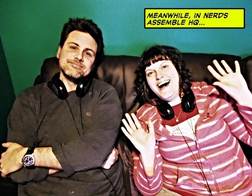 From the Nerds Assemble episode where we interview Green Wing and Smack the Pony writer - James Henry.  http://www.nerdsassemble.co.uk/post/43477300491/nerds-assemble-episode-27-the-james-henry-invasion
