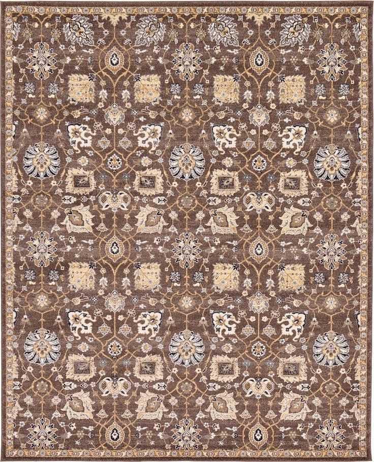 Tradition Brown Area Rug