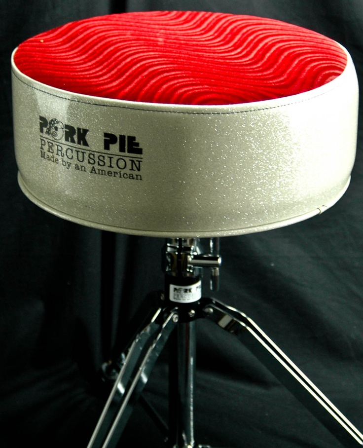 Pork Pie Percussion Round Drum Throne- best throne in the business! My butt wouldn't le!